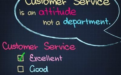 Customer Service = ATTITUDE and is not a Department!!!